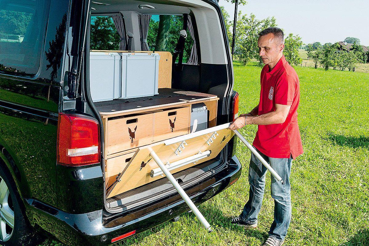 Outdoorküche Camping Car : Drei bullis vom designer camping van camping and rv
