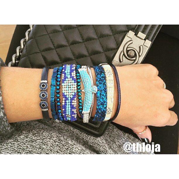 Blue Life!!💙💙 Du jour Hipanema Bracelet!! Info e vendas pelo whats 11 99963-9916 ou email atendimento@thloja.com.br  Pagto pode ser em 3 X sem juros, ou depósito Itaú💳  Entrega via correio 📫 📪  #fashion #semijóia #bijou #bijoux #acessórios #acessóriosny #lojaonline #thloja #brincos #earcuff #earrings #pulseirismo #pulseiras #lookoftheday #igers #instamoda #instafashion #instalove #ootd #trend #braceletes #followme #acessories  #fashion #earcuff #earjacket #thlovers