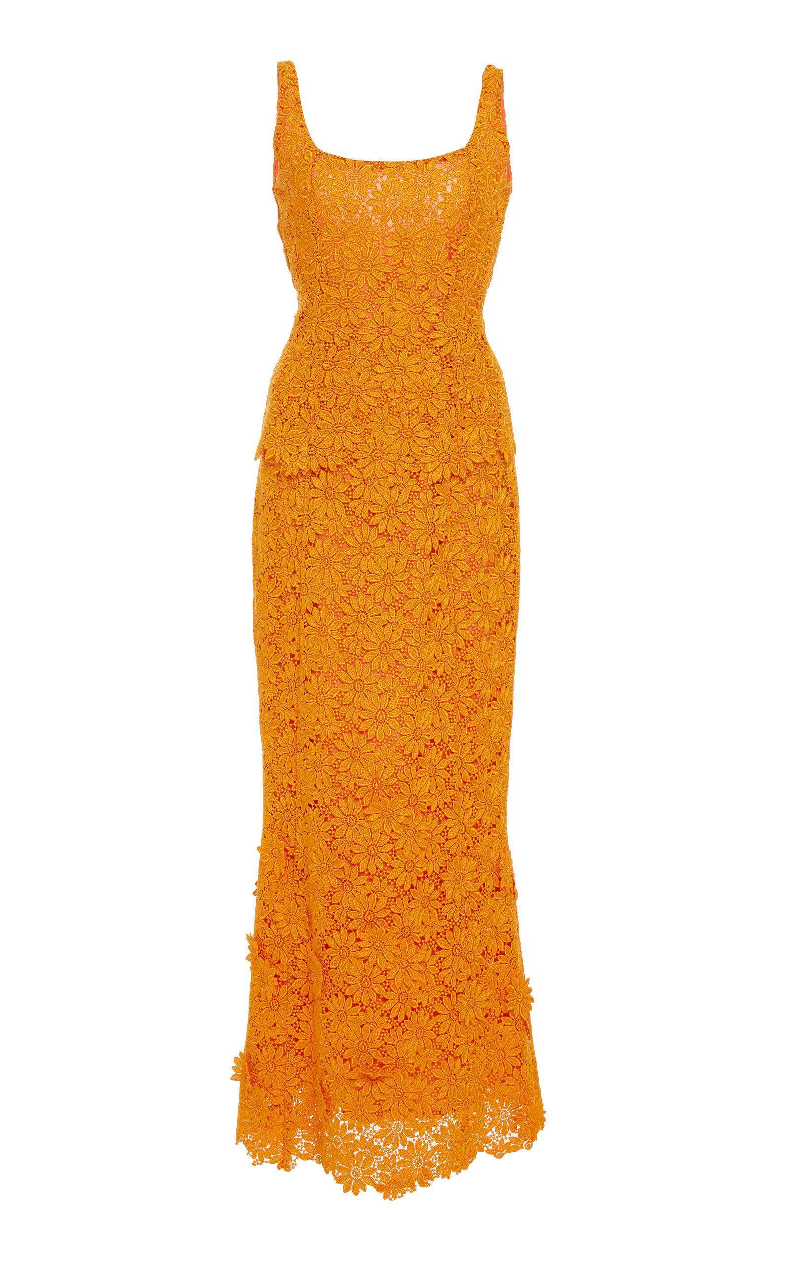 Romona keveza lace wedding dress october 2018 Penelope Sleeveless Guipure Lace Dress in   art  Pinterest
