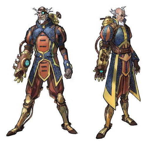 Art Magic Character Concept Gathering