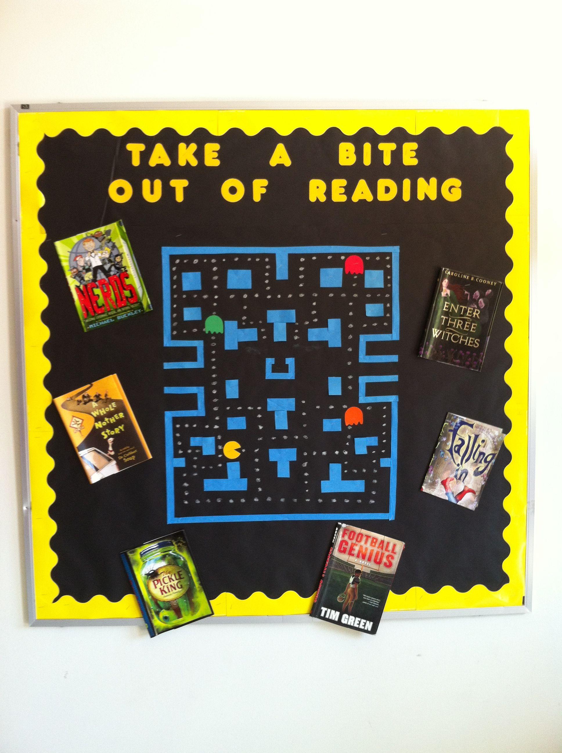 Pac Man Bulletin Board Education Classroom Bulletin