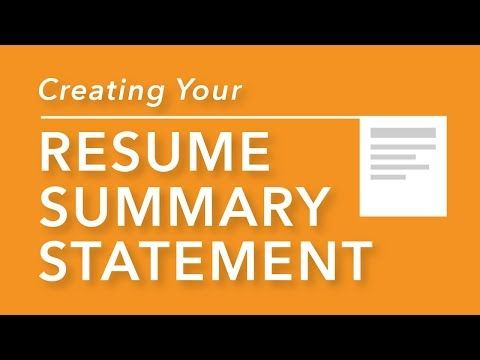 Use These Resume Objective Examples And Resume Summary