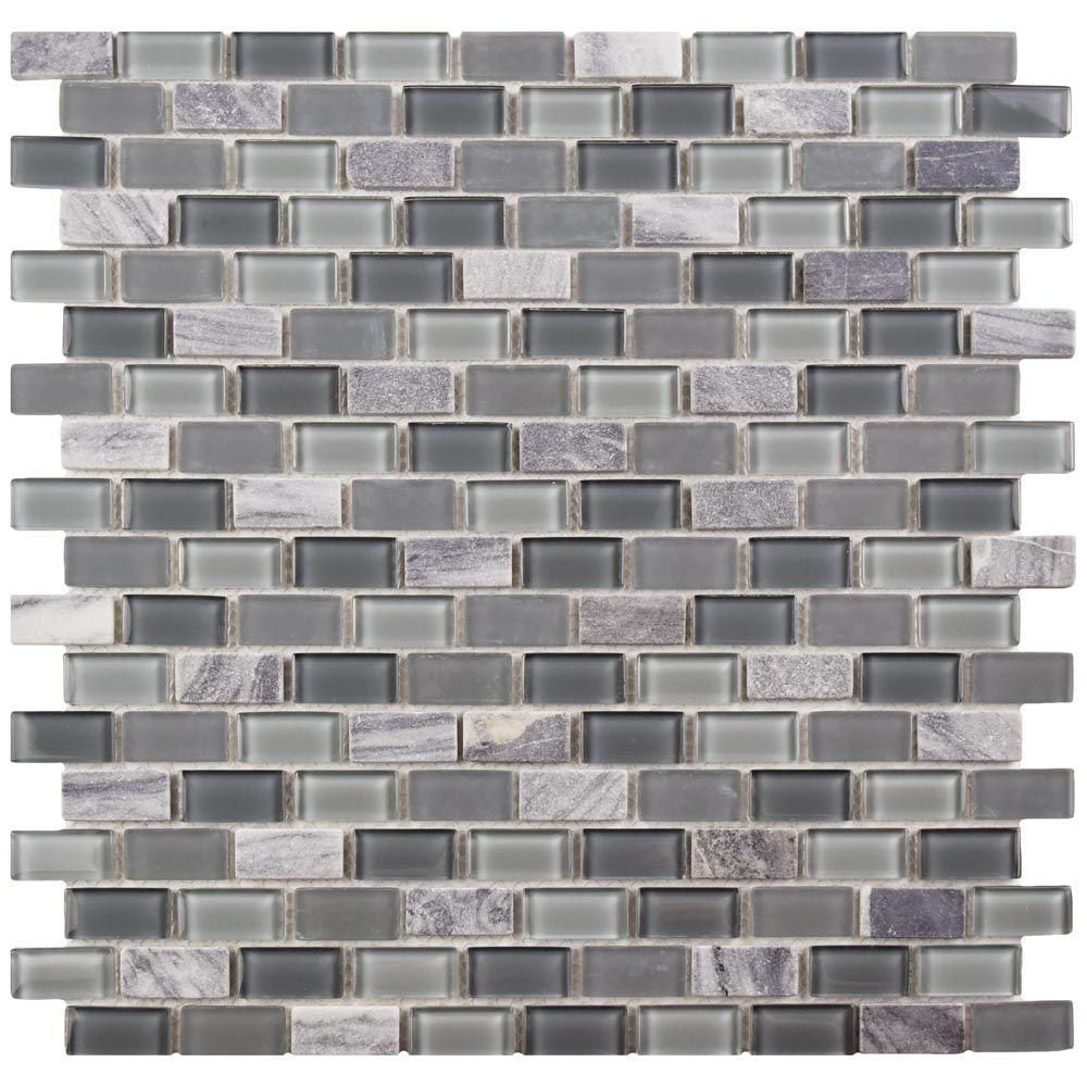 Merola Tile Spectrum Mini Subway Fortress 11-1/4 in. x 11-3/4 in. x ...