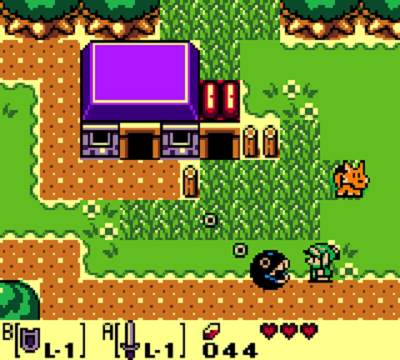 Zelda Link's Awakening ¿Mario?