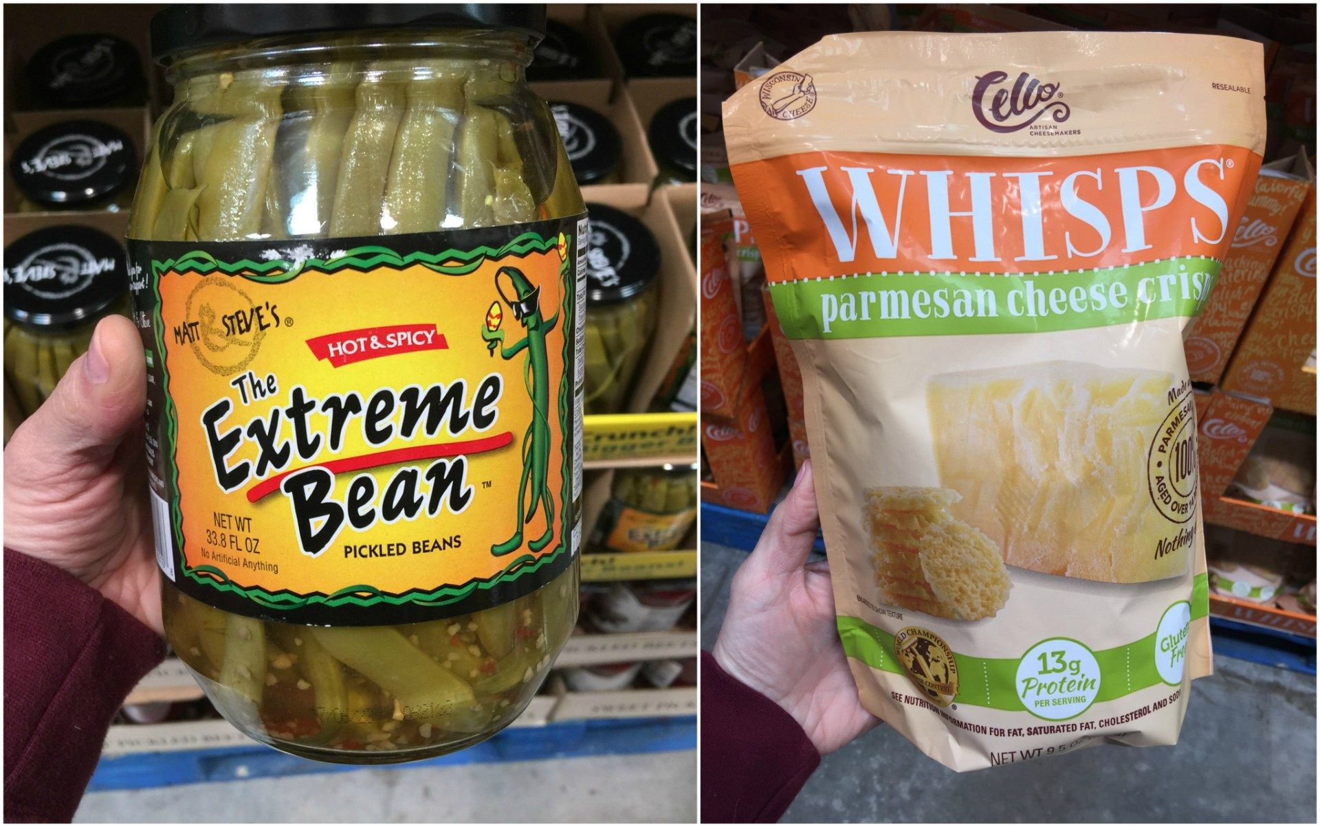 Low carb Costco and Sams Club finds include spicy beans