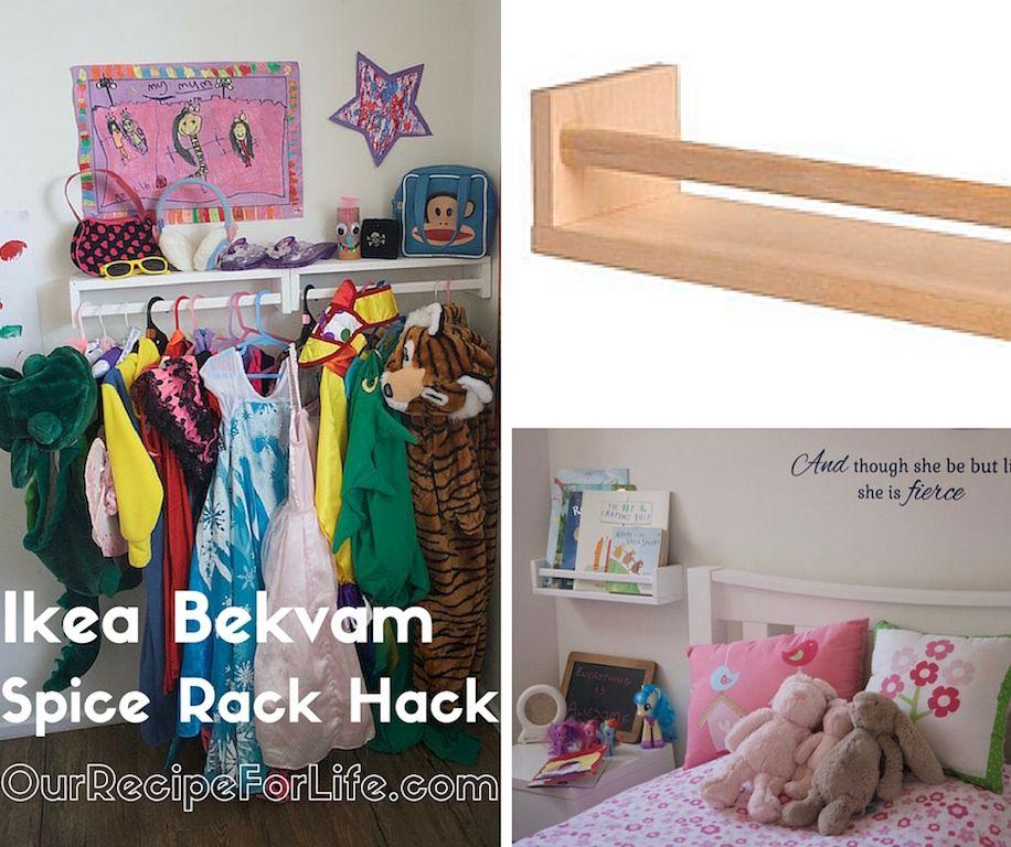 Ikea Bekvam Spice Rack Hack: Ikea Bekvam Spice Rack Hacks
