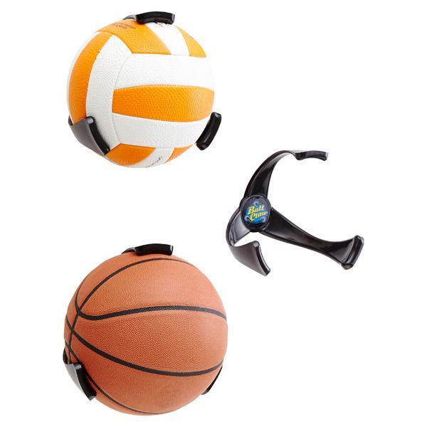 Round Ball Claw Basketball Holder Wall Mounted Display Case Sports Wall