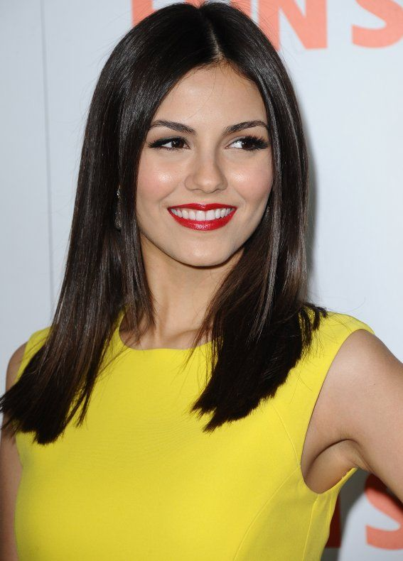 Bold Yellow Dress Red Lipstick Perfect Hair Makes A Stunning