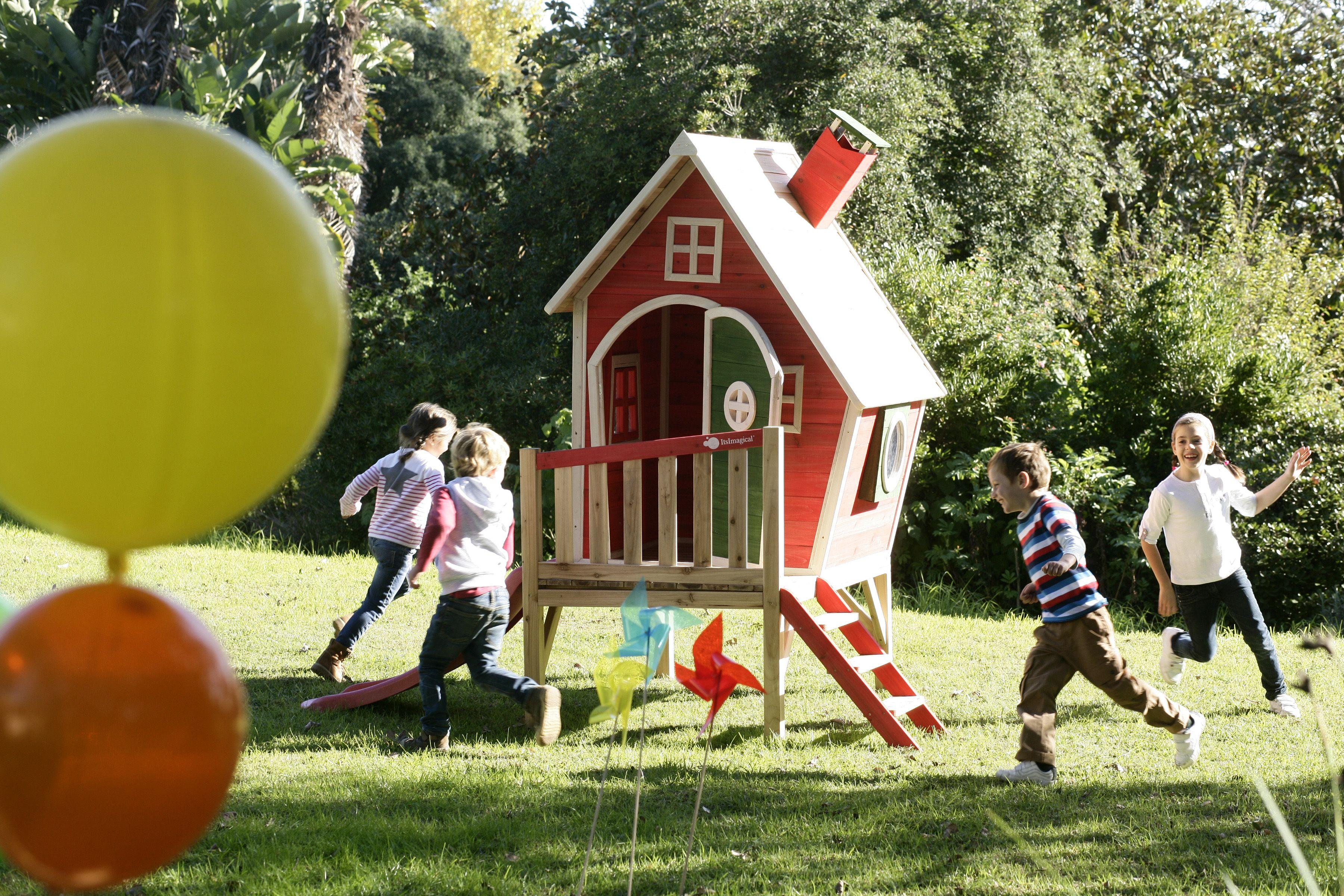 Aire Libre y Diversi n en el jard n con Mega Playhouse Garden