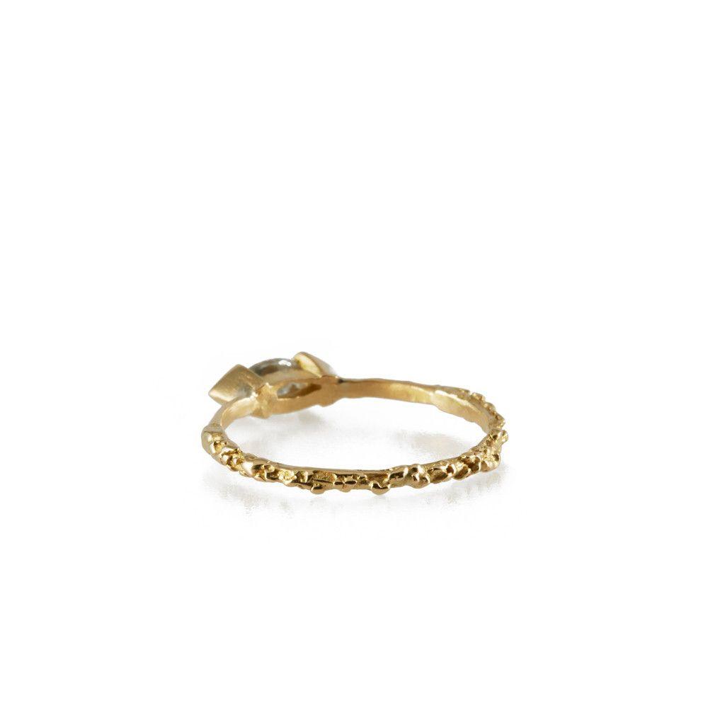 MATA HARI <p>18k gold and diamond ring</p> Michelle Oh
