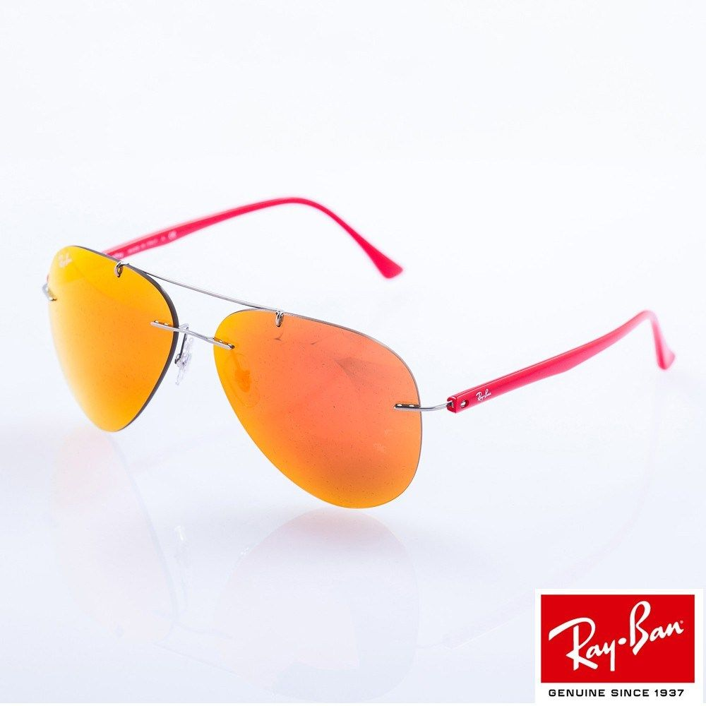 Rayban Rb8058 159 6q مركز عوينات للبصريات Ray Bans Mirrored Sunglasses Sunglasses