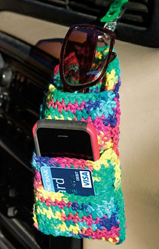 Ravelry: Dashboard Organizer pattern by Debra Arch. Crochet World ...