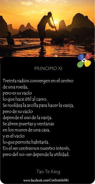 Consentido Tao Te King Principio 11 Frases De Sabiduria