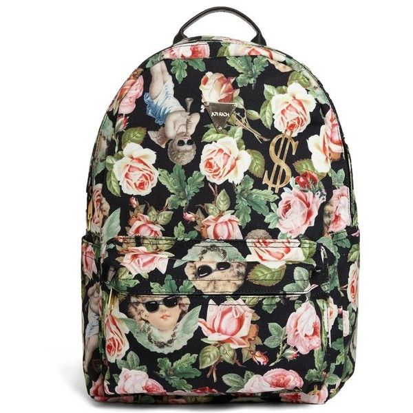 Joyrich Angelic Rich Floral Backpack found on Polyvore