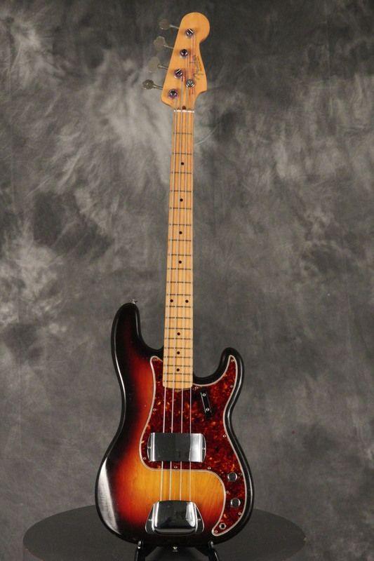 original 1958 fender precision p bass 3 tone sunburst guitar universe share your best. Black Bedroom Furniture Sets. Home Design Ideas