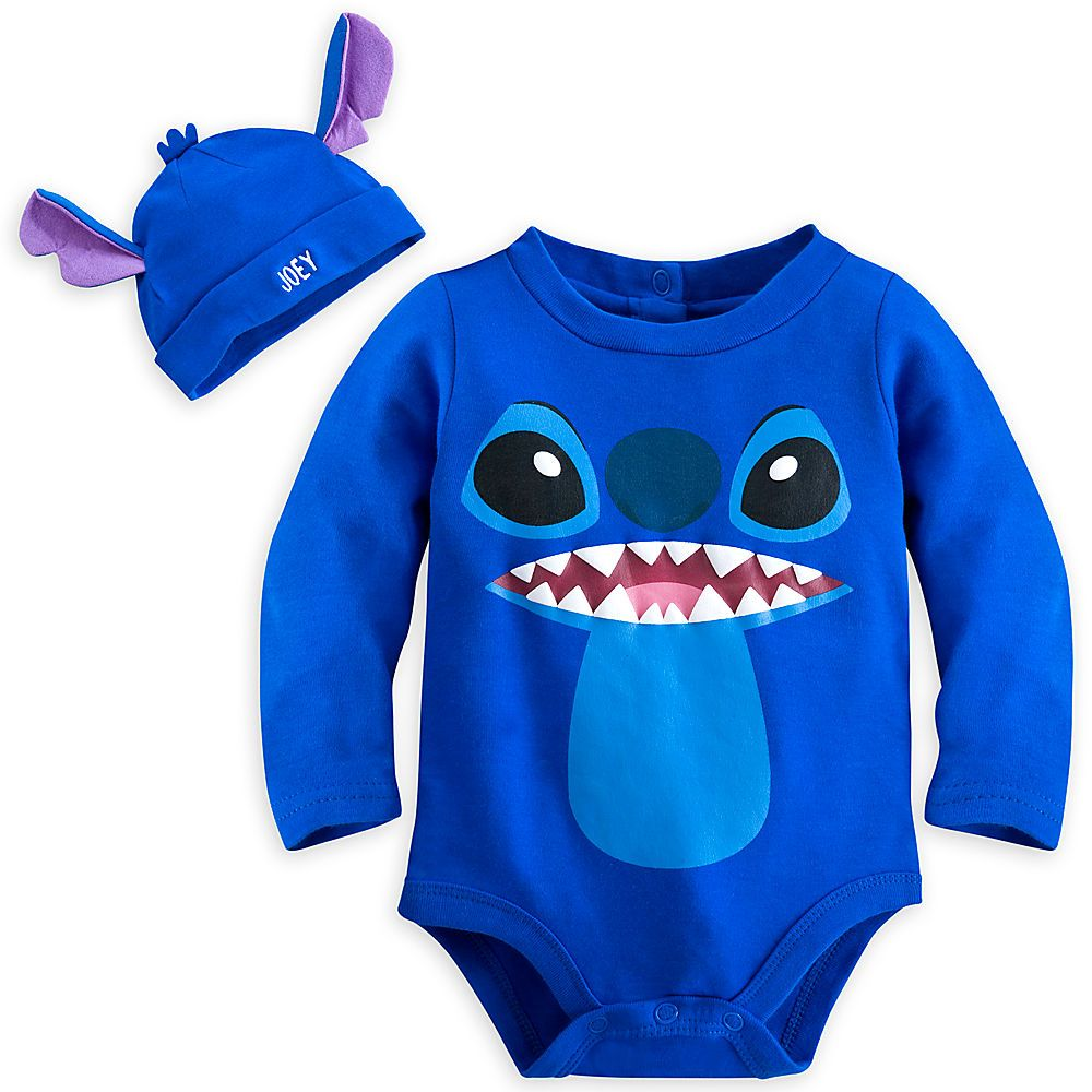 Stitch Bodysuit Costume Set for Baby - Personalizable from ...