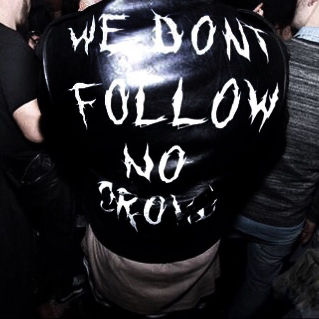 No Crowd Leather Jacket