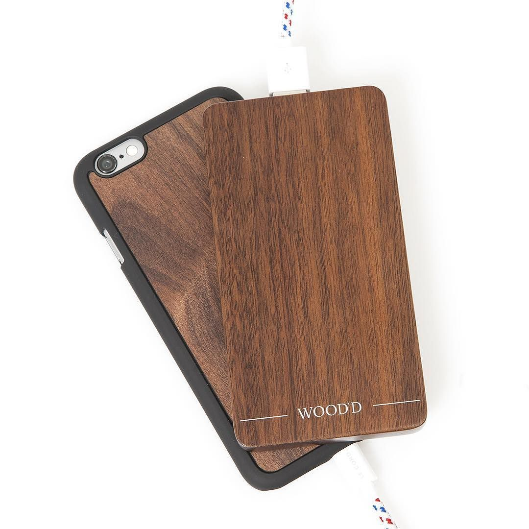 """""""The Basic Wooden Charger""""  Our first power bank is almost here.  Launching on October 28th.  #Woodd #TheBasicWoodenCharger"""