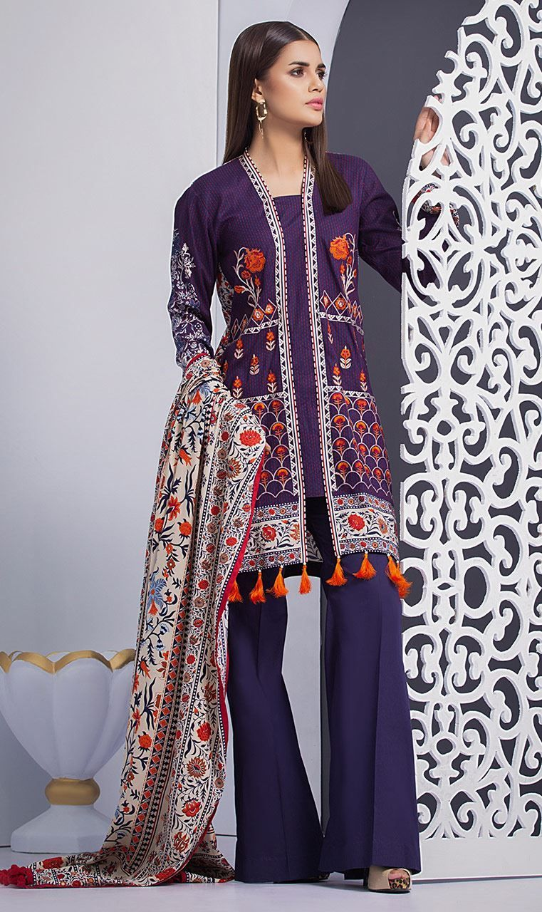 b34b34f9a7e Orient Textiles-Embroidered & Printed Latest Winter Dresses collection  contains digital printed shirts, embroidered linen, khaddar, cotton suits!