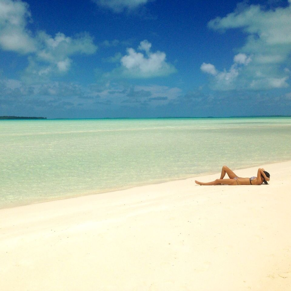 Cook Islands Best Beaches: (No Idea Where This Beach Is; The Person I Pinned This