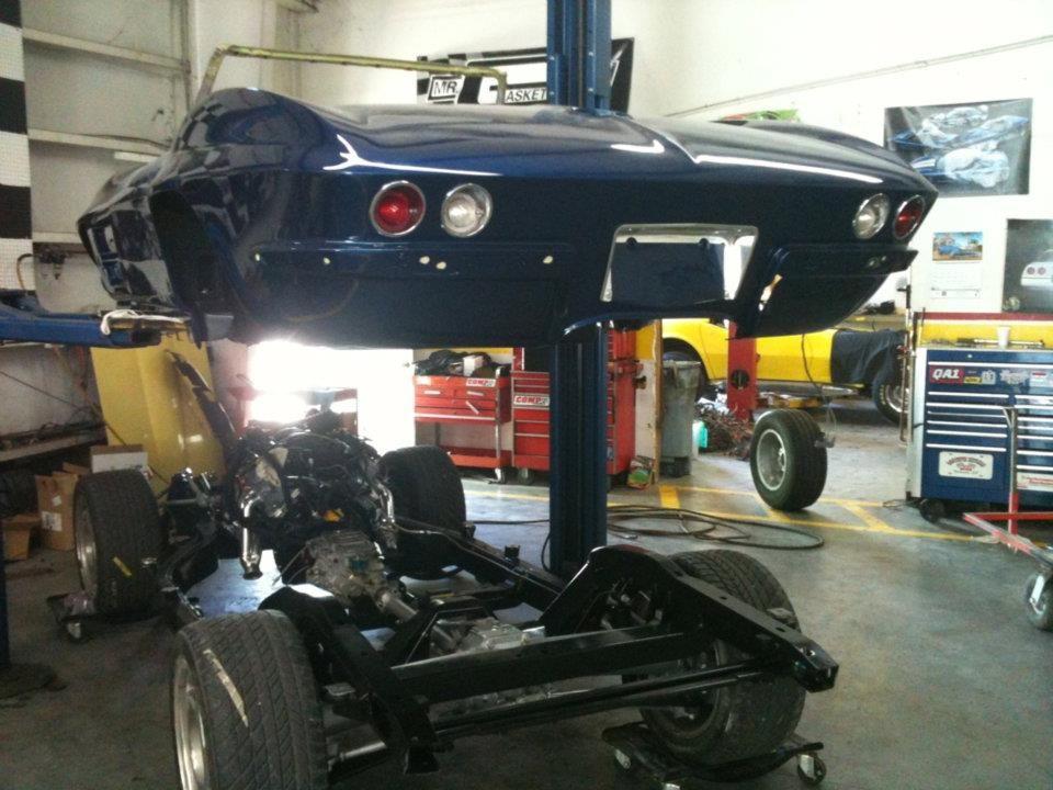 1963 Corvette Resto-Mod Frame off Restoration by Corvette Express ...
