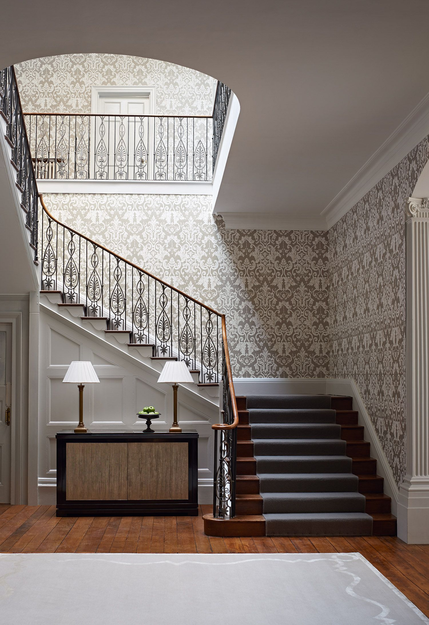 Hall Stairs And Landing Wallpaper Inspiration For Your Hallway