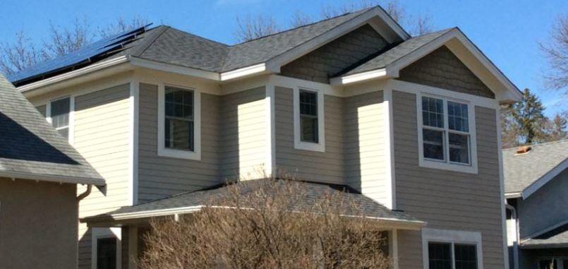 Minneapolis Residential 8 1 Kw Rooftop Solar Energy Minnesota Mn Trunorth Solar Best Solar Panels Landscaping Around House Solar