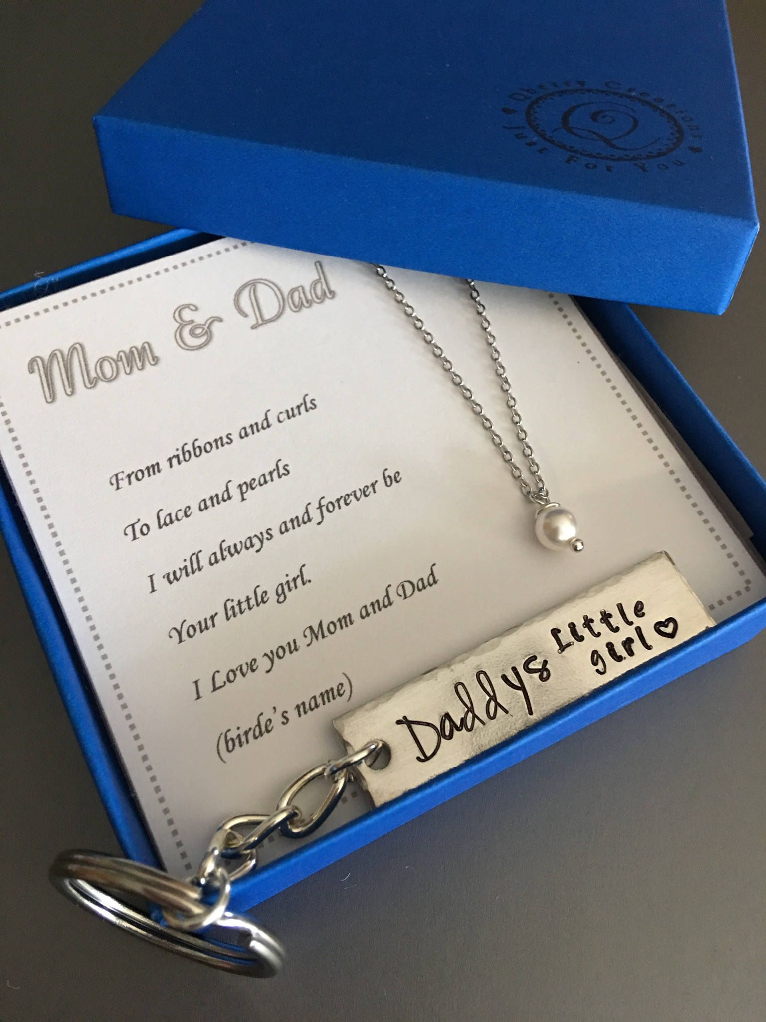 Father and Mother of the bride,Wedding gift,Mom and Dad gift,Mom ...