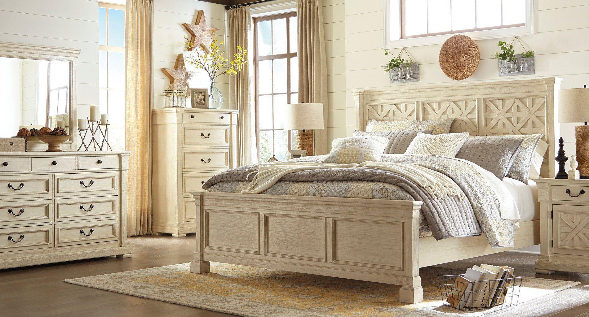 Best Bolanburg Panel Bedroom Set Bedroom Furniture Sets White Paneling White Panel Beds 400 x 300