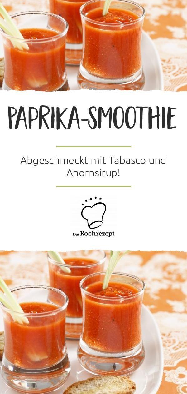 Paprika-Smoothie
