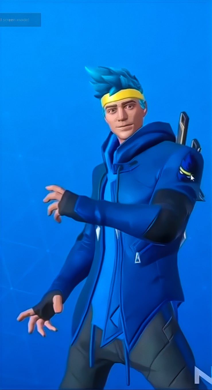 Get Ready To Play As Ninja In Fortnite S Battleground L2pbomb In 2020 Skin Images Fortnite Phone Wallpaper