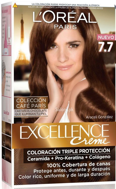 Loreal Paris Excellence Creme 77 Honey Brown I Havent Pined Hair