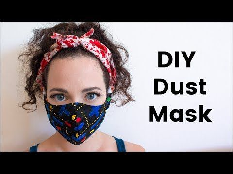 Tutorial Face Own Diy Your To Medical Make Mask surgical How