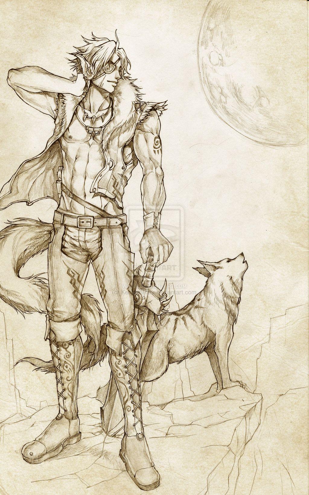 The Wolfman by KenshjnPark.deviantart.com on @deviantART | Anime ...
