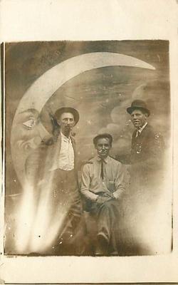 Paper moon photo