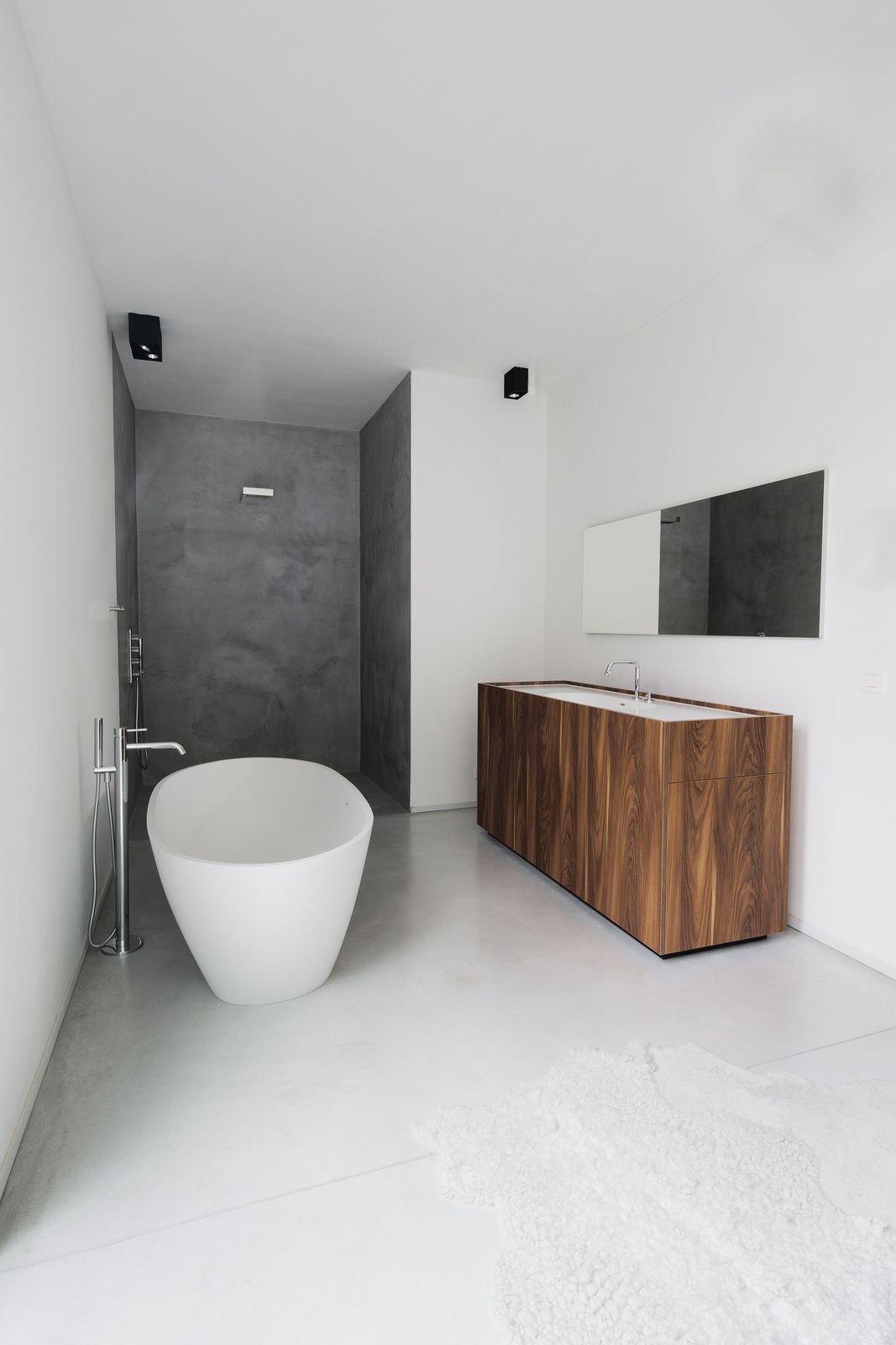 Badkamer Tray Badkamer Losstaand Bad Inloopdouche In Mortex New Bathroom Ideas