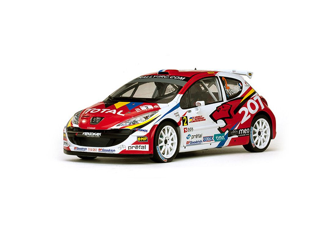 Sun Star 1:18 Peugeot 207 Diecast Model Car H5435 This Peugeot 207 ...