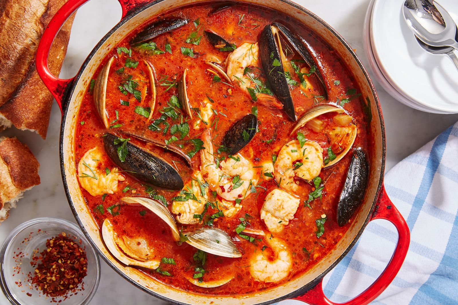 Our Best-Ever Cioppino Is Loaded With Seafood