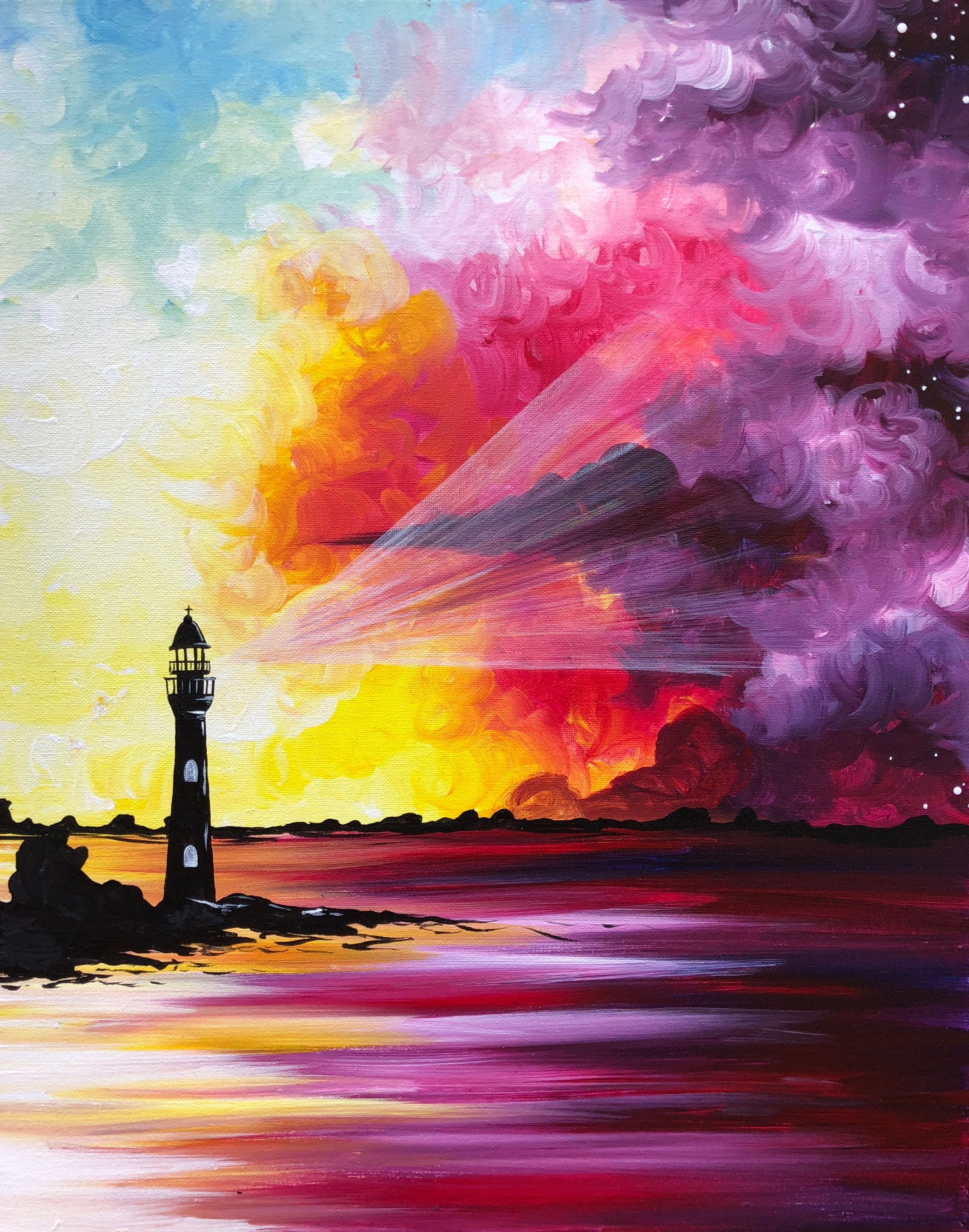 Hey! Check out Sorbet Sunset Lighthouse at Mimi's Cafe