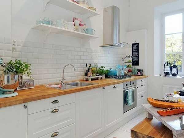 cuisine blanche 20 id es d co pour s 39 inspirer cuisine. Black Bedroom Furniture Sets. Home Design Ideas