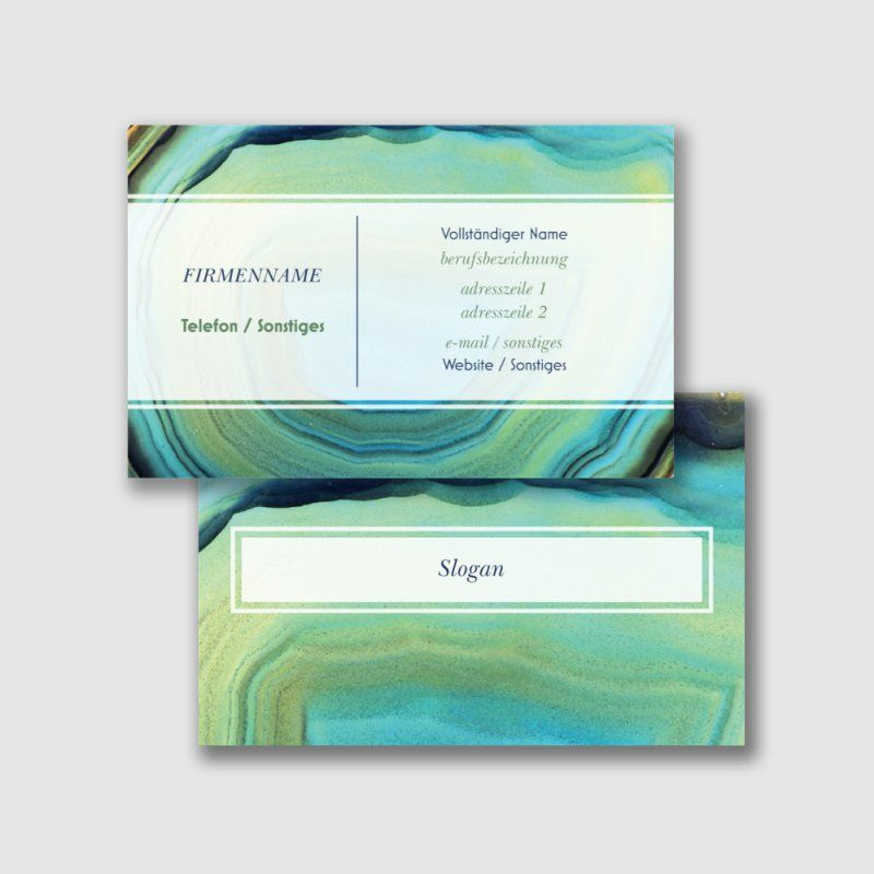 Strukturpapier Visitenkarten Vorlagen Designs Page 30
