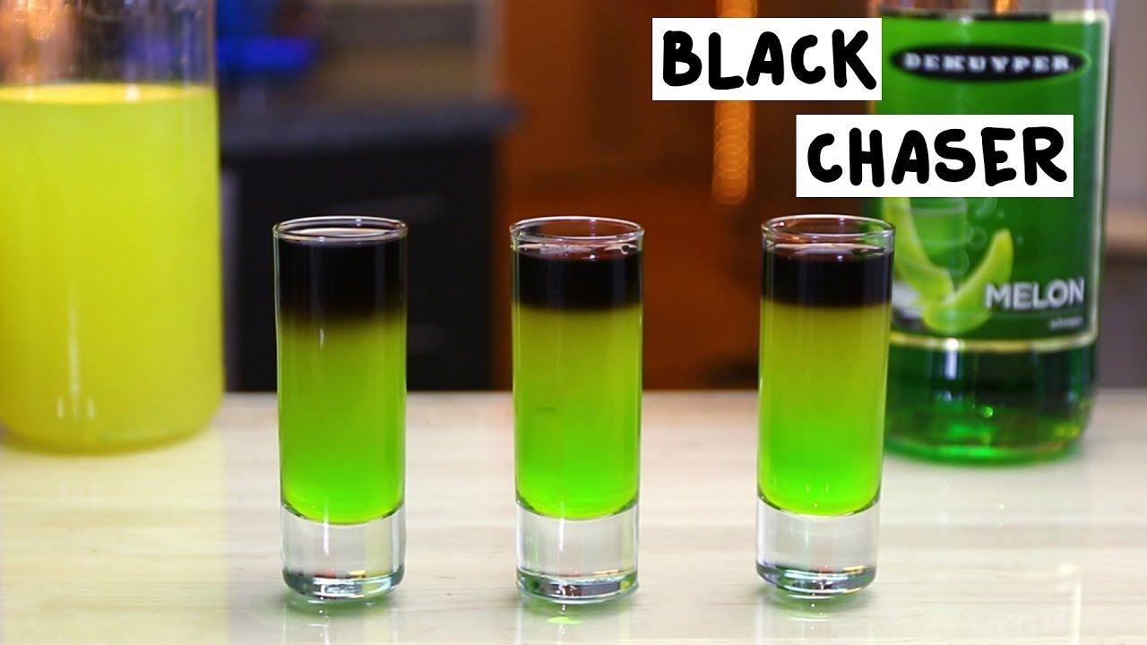 Black Chaser Shots Recipe Jungle Juice Recipe Vodka Shots Shot Recipes