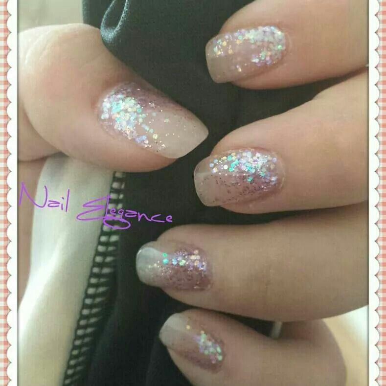 Acrylic Glitter Infills | Acrylic Nails (work done by Nail Elegance ...