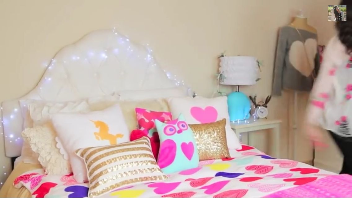 Bethany mota inspired room decor