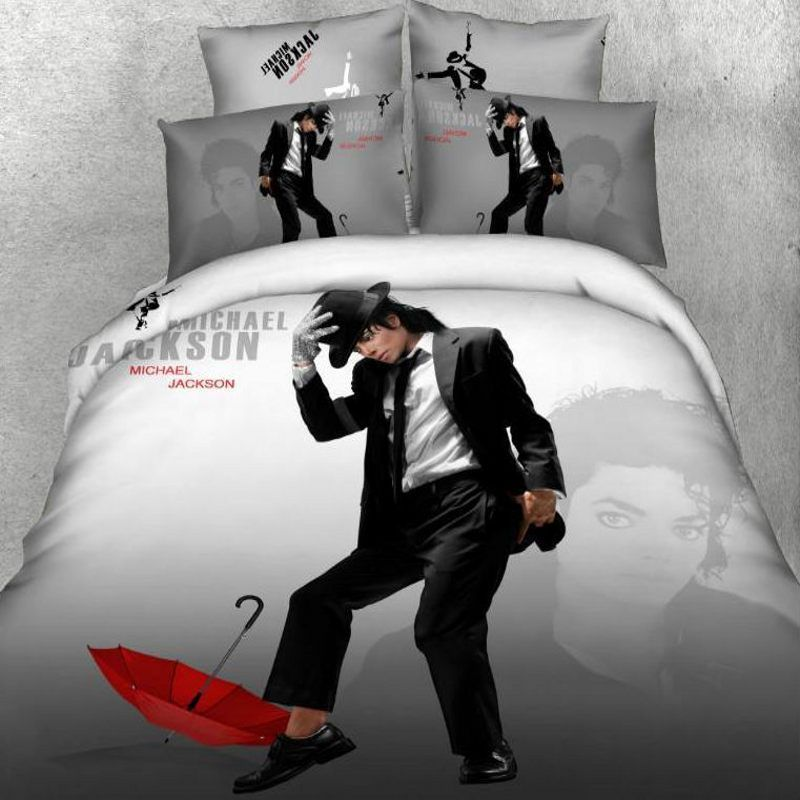 Home Hacks Marilyn Monroe Bedding Set 3D 100% Cotton Michael Jackson  American Flag Christmas Red Duvet Cover Bed Sheet Set Queen King Size  *   Nov 11 ...
