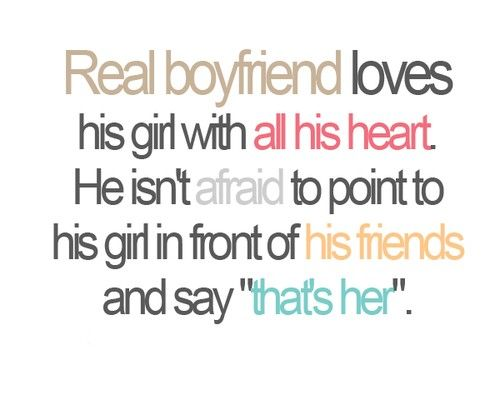 Boyfriend and girlfriend qoutes
