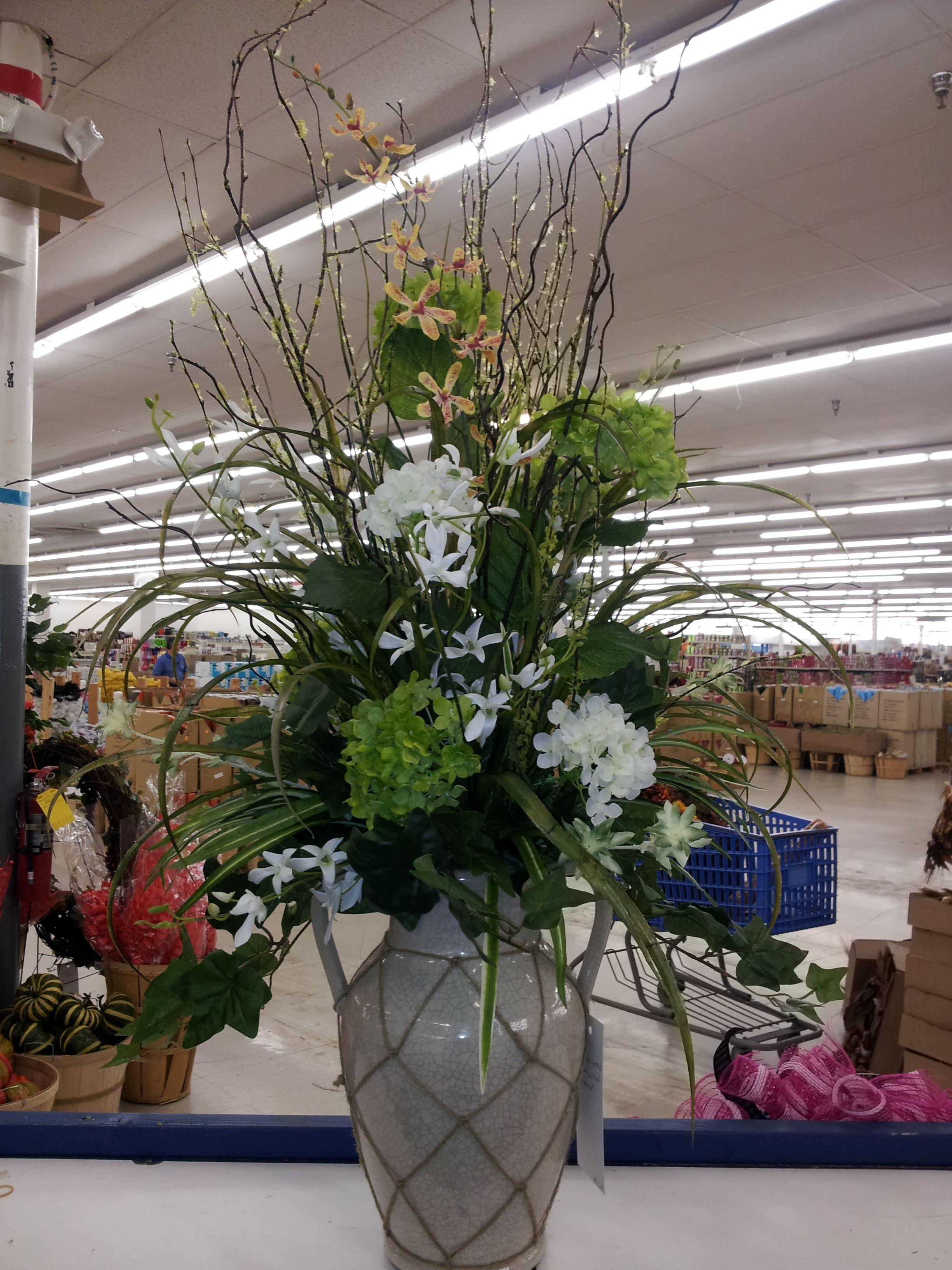 Large Everyday Arrangement By Kyong Large Flower Arrangements Artificial Flower Arrangements Large Floral Arrangements