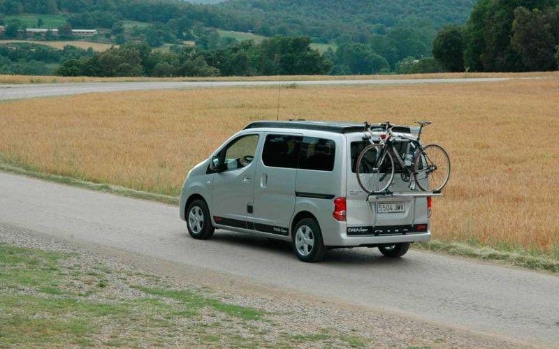 nissan evalia camper bram 24 evalia camper furgoneta. Black Bedroom Furniture Sets. Home Design Ideas