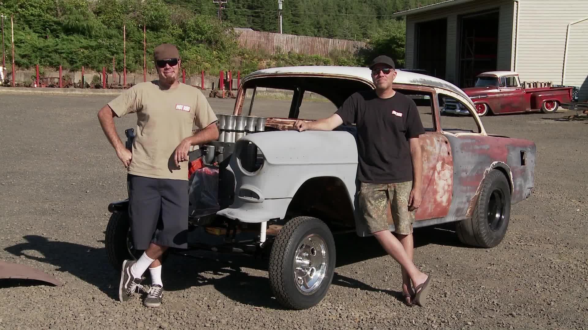 1955 Chevy Gasser - Blasphemi - Roadkill | Rat-icle Rides ...