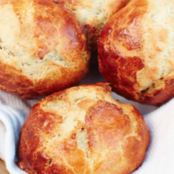 Banana and Cardamom Buns #cardamombuns This recipe for light, fragrant Banana and Cardamom Buns from Meera Sodha's Fresh India is a treat. Enjoy these buns with a hot drink for breakfast or afternoon tea. #cardamombuns